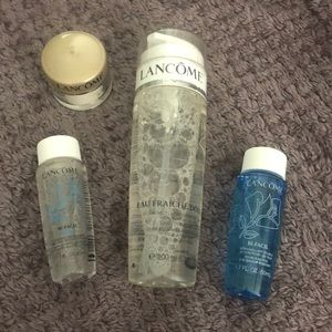 Lancôme face set with full size cleansing water